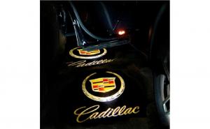 Lampi led logo portiere universale Cadillac