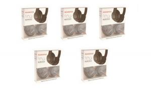 Pachet Promotional 5 x Casti PC, Over-The-Ear, Stereo, Bass Dynamic, Editie Limitata - Centenarul Romaniei, Negre