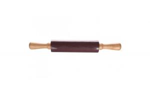 Sucitor pentru aluat, lemn/metal/silicon, Cosy&Trendy, L 38,5, Ø 5.5 cm, maro