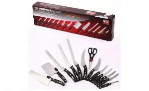Set de 13 cutite pentru bucatarie, profesionale, Miracle Blade