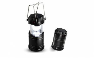 Felinar solar LED - foarte simplu de utilizat, fiind ideal pentru a fi folosit in vacante, camping, pescuit (1+1 Cadou)