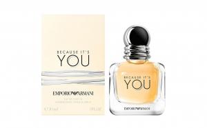 Apa de Parfum Emporio Armani Because It`s You, Femei, 100 ml