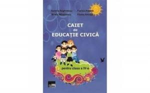 Caiet de educatie civica, clasa a IV-a, autor Aurelia Arghilescu, Florica Ancu??, Mirela Mih?ilescu, Florea Ancu??