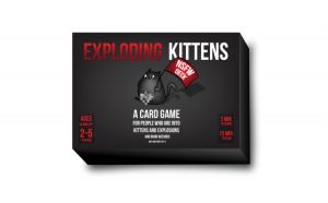 Exploding Kittens (varianta Not Safe), Board Games