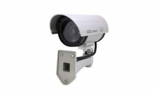 2 x Camera de supraveghere falsa pentru interior/ exterior - aspect real