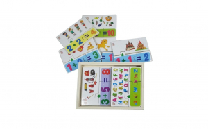 Joc matematic Montessori 4 in 1