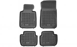 Covoare / Covorase / Presuri cauciuc stil tip tavita BMW Seria 3 E90 / E91 2005-2011 - REZAW PLAST