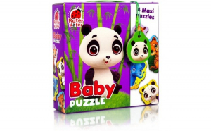 Puzzle Maxi Bebelusi Animale de la Zoo, 13 piese Roter Kafer RK1210-02 Initiala