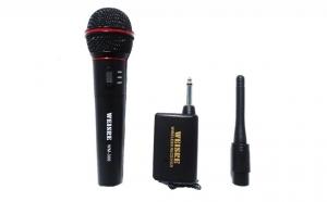 Microfon cu fir si wireless - acuratete in auz si putere