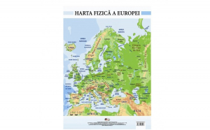 Harta Fizica a Europei - Plansa A2