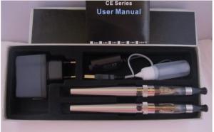 Kit 2 tigari complete cu Baterie eGo V.V. 650mA cu clearomizor CE6, la doar 118 RON in loc de 249 RON