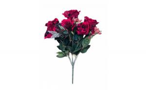 Flori decor artificiale din catifea,