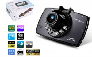 Camera Auto DVR Black Box Novatek G30 FullHD 12MPx, la 199 RON in loc de 398 RON
