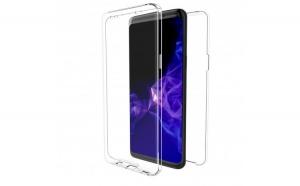 Husa Samsung Galaxy A8 2018 Flippy 360 New Transparent