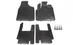 Set covorase cauciuc stil tavita negru Chrysler Voyager V 10.07- van rezaw