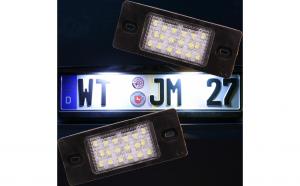 Lampi numar led VW Touareg, Bora