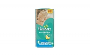 Scutece PAMPERS GIANT PACK 6 ACTIVE, Baby`s Day