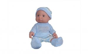 Papusa bebelus cu sunete, 25 cm, varsta 3 ani+, bleu