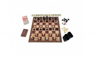 Set jocuri de masa 6 in 1  sah  table, Board Games
