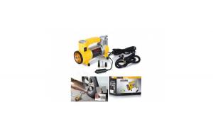 Compresor auto pentru autovehicule mari, 12 V, 35 L/Min, 150 PSI, galben
