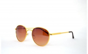 Ochelari de soare  Aviator - Maro/Auriu, la doar 25 RON in loc de 50 RON
