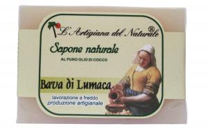 Sapun natural cu extract de melc si ulei de cocos, 100 g Laboratorio Naturale