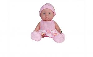 Papusa bebelus cu sunete, 25 cm, varsta 3 ani+, roz