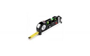 Nivela-boloboc cu raza laser si ruleta incorporata