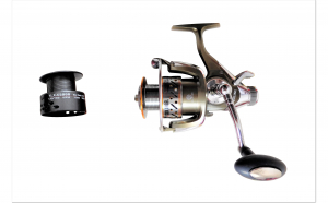 Mulineta COOL ANGEL YL.X-K5000, 9 Rulmenti, Baitrunner, tambur aluminiu, frana fata/spate, pescuit stationar, ideal crap