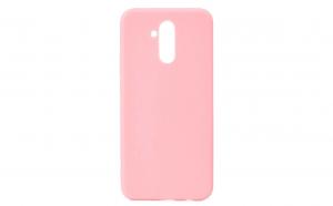 Husa silicon, slim Matt, Huawei Mate 20 Lite, Roz/Pink