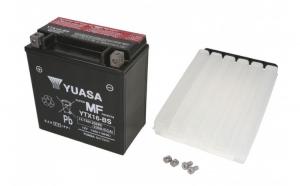 Baterie moto AGM fara intretinere YUASA 12V 14Ah 230A L+ 150x87x161 Incarcare uscata cu acid
