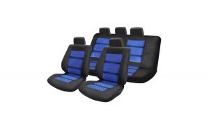 Huse Scaune Auto SEAT IBIZA ( 2000-2010)  Premium Lux Albastru