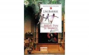 Peter Pan si Wendy , autor J. M. Barrie
