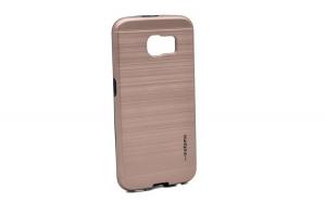 Husa Samsung Galaxy S6 Motomo V5 Roz-Auriu