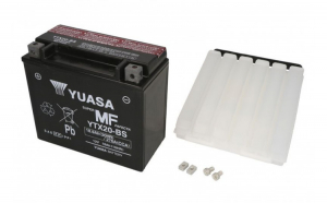 Baterie moto AGM fara intretinere YUASA 12V 18Ah 270A L+ 175x87x155 Incarcare uscata cu acid