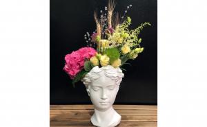 Vaza Venus Adonis ceramica
