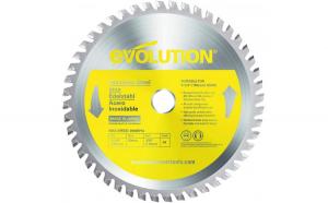 Disc pentru fierastrau circular, taiere inox Evolution EVOS185TCT-48CS-7171, O185 x 25.4 mm, 48 dinti