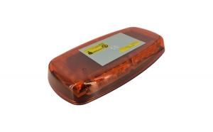 Rampa stroboscopica energy  PROFESIONALA Portocalie omologata E.Mark cu magnet 12-24V