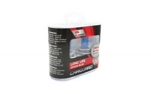 CARGUARD - Set de 2 becuri Halogen H4, 100W +130% Intensitate - LONG LIFE GLZ-BHA033