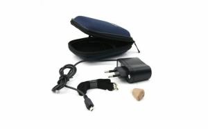 Amplificator audio (aparat auditiv profesional), discret, reincarcabil