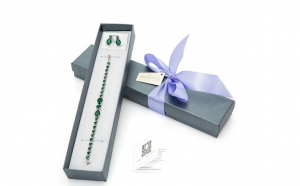 Set Emerald Swarovski, Produse romanesti