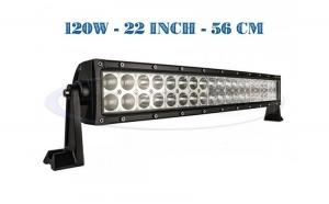 Proiector LED Auto 120W, 12V-24V, 9600 Lumeni 55 cm la numai 549 RON redus de la 850 RON