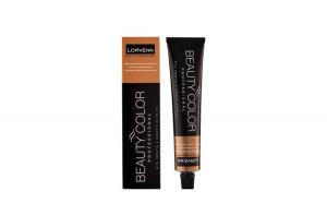 Vopsea de Par Lorvenn Professional Beauty Color Tube,Lorvenn, 5.32, CHESTNUT MAROON ,70 ml
