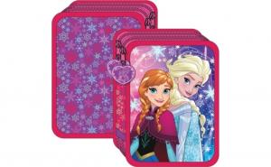 Penar echipat cu 2 fermoare - Elsa si Anna