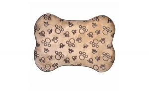 Covoras pentru caini sau pisici,practic, termic, baza anti alunecare, potrivit pentru podelele reci, 76 x 54 cm