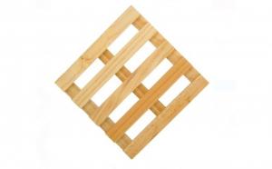 Palet din lemn pentru vase 10x10 cm