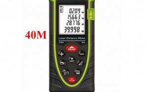 Telemetru laser profesional 40m Sndway, la 329 RON in loc de 710 RON