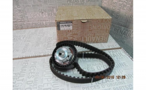 Kit distributie Dacia Logan Sandero Dokker Lodgy 1,4 1,6 ORIGINAL 130C17480R