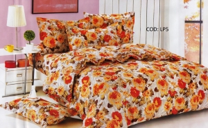 Lenjerie de pat - Home Textile 4 PCS 100% Bumbac la 60 RON de la 120 RON