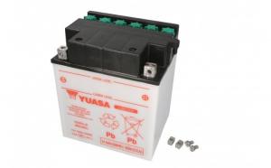 Baterie moto Acid cu intretinere YUASA 12V 30Ah 300A R+ aerisire dreapta 168x132x192 Incarcare uscata fara acid
